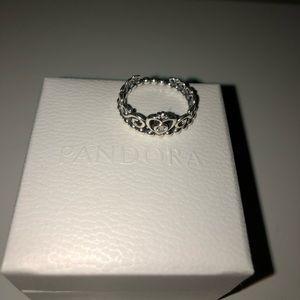 Pandora Tiara Crown Ring
